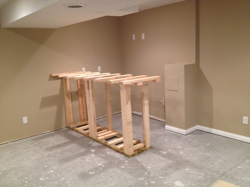 we framed out the bar if you think it looks good now just wait