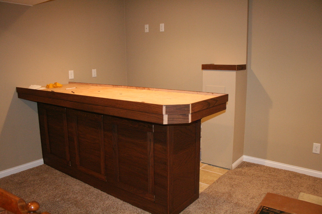 Bar top epoxy the handiless homeowner for What to use for a bar top